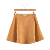 New Women Fashion High-waist Corduroy Circle Skirt  SK1032-O02