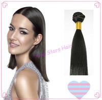 Cheap Straight Brazilian Remy human Hair Extensions off black(1B) 300g,400g/lot,100% Cuticle Virgin Human Hair weaving