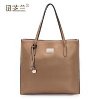 Genuine leather women's handbag large capacity casual brief shoulder bag fashion handbag NO:1170471 free shipping