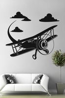 """ Airplane M480 ""  Vinyl Word Quote Wall Decal Art Sticker"