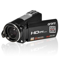 Ordro HDV-Z37 Full HD Digital Camcorder genuine special &professional home telephoto DV&10 times optical zoom 16 million pixels