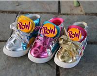 Super Quality 1pair Sneakers Children Shoes Fashion Unique Kids Girl's/boys Shoes, slip-resistant sports baby shoes