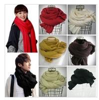 New 2014 Fashion Autumn Warm Cotton Scarf Women,High Quality Winter Scarf Extra Long Desigual Men Scarves