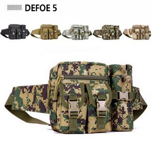 Zipper Magazine Pocket Water Bottle Waterproof Waist Bag Military Advance Defense Ultralight Range Tactical Gear Wholesale(China (Mainland))