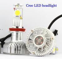 2013New 12V 32W Cree car LED headlight,2000Lm H4 H7 H8 H11 9005 9006,6000K