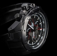 High quality brand men dress fashion sports Business multifunction watch, never fade 100m waterproof full steel Luxury watches
