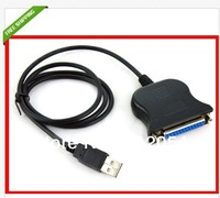 FREE SHIPPING! High Quality New USB to DB25 Female Port Print Converter Cable LPT.