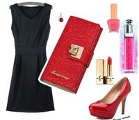 Multiply function wallet, bow knot korea style wallet, Carteira Feminina,Cartera ,portefeuille femme,