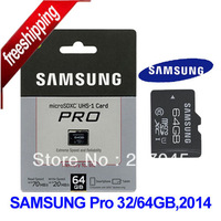 10PCS/lot Samsung Micro SD card 64GB 32GB New Pro Series class 10 MicroSD Memory Card TF 64GB 32 GB with free SD Adapter
