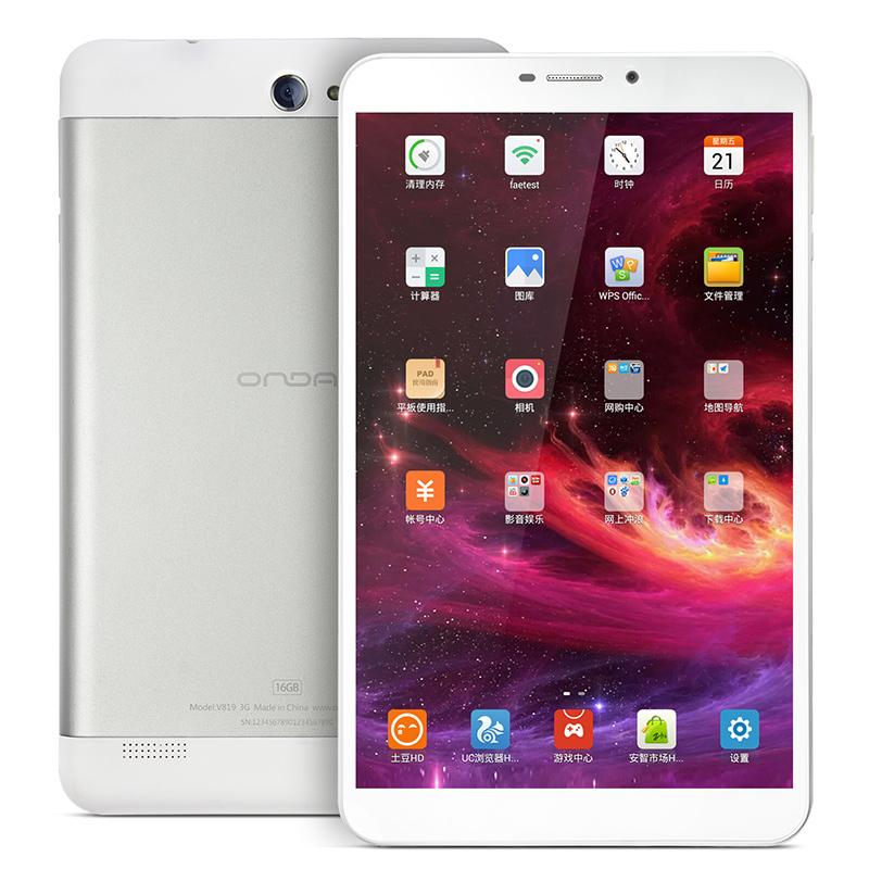 Onda V819 3G Quad Core Tablet PC 8 inch Android 4.2 1280*800 IPS mini pad GPS Bluetooth WCDMA Phone call dual Camera(China (Mainland))