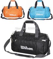 2014 FREE SHIPPING Fashion travel handbag one shoulder sports bag cylinder messenger bag male women's duffle men gym bags