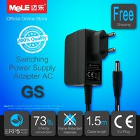Free Shipping Switching Power Supply Adapter AC 100-240V to DC 5V 2A EU Plug , Compatible with MeLE Android Mini PC / TV Box