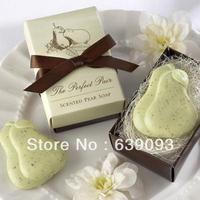 Min Order $10 (mixed order) romantic incense body milk natural bath face Mini soap series - - pear shaped free shipping