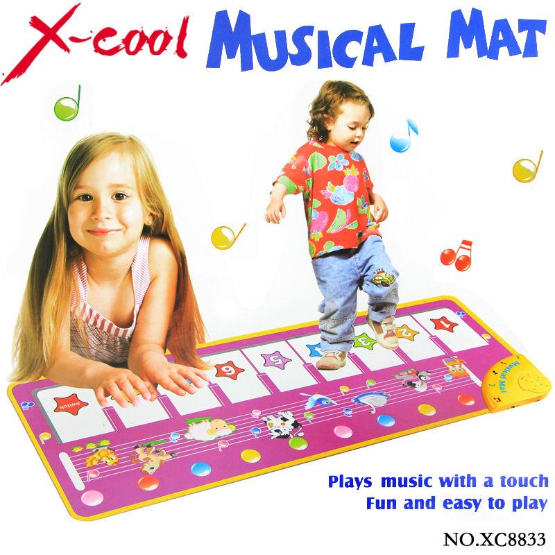Free shipping Xc8833nc 100x36cm big size  baby music carpet /baby music mat /Baby Kid Child Piano Music(China (Mainland))