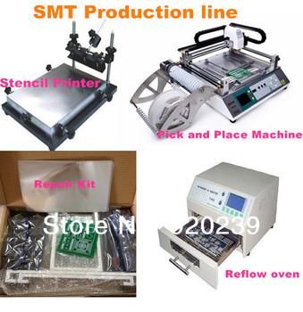 SMT PCB Led Production Line Pick and Place Machine TM240A