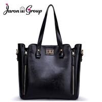 Jaron Group Genuine Leather Bags Women Leather Handbags Messenger Bag For Ladies Tote Shoulder Bags Bolsas Vintage Style