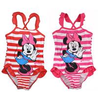 2-5 years Children Swimsuit/Kid Baby Swimwear/Fashion One-Piece Beach Wear/Girl Swimming Wear/Cartoon Style/Free Shipping