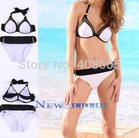 Women Bikini 2013 Sexy push up Swimwear dress free Shipping Fashion Swimsuit brazilian hot 2014 gift  !