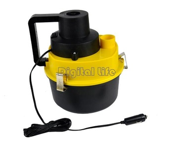 new 2013 Portable Wet&Dry Auto Car Home Dust Vacuum Cleaner Collector Inflator Air 8743