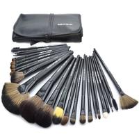 Black Makeup Brushes Set & Kits Professional 24 pcs 24pcs Makeup Brush Set Makeup Tools Cosmetics Facial Brushes For Makeup
