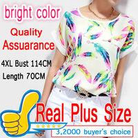 Fashion Blouse Shirt S-XXXXL 5XL 6XL Plus Size Female Clothing Tropical Blusas Femininas Camisas Roupas Casual Body Women Tops