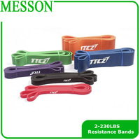 Natural Latex Resistance bands of body training equipment belt