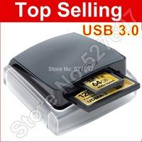 Lexar Professional USB 3.0 Dual-Slot Reader UDMA 7  Card Reader For UDMA CF UHS-I SDHC SDXC Memory Card Free Shipping Wholesale