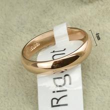 2015 New Italina brand 3 - 12.5 full size 18K rose Gold plated jewelry Children Anel Masculino Men & Women engagement rings(China (Mainland))