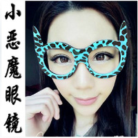 Minimum order is $10  fashion masquerade party big black-rimmed glassesglasses frame non-mainstream men and women