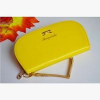 2014 new arrival fashion hot women bags iphone wallet purse coin case wristlet pouch zippier  letter PU clutches bags