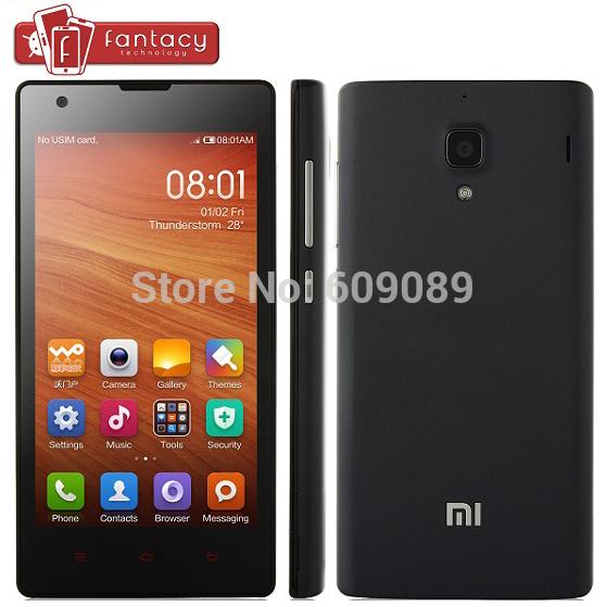 Original Xiaomi Red Rice 1S WCDMA 3G Qualcomm MSM8228 Quad Core Android 4.3 Phone Hongmi Redmi 1S 1280*720P IPS 4.7'' IPS GPS(China (Mainland))