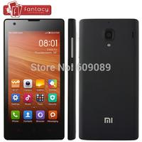 Original Xiaomi Hongmi 1S WCDMA 3G Qualcomm MSM8628(8228) Quad Core Mobile Phone Xiaomi Red Rice 1280*720P IPS 4.7'' IPS GPS