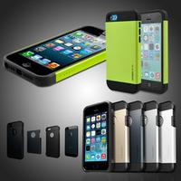 Spigen SGP Slim Armor & Tough Armor Case For iphone 5 5S Cellphone Back Durable Protection Cover Drop Shipping RCD02407