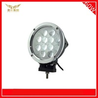 Free Shipping 60W LED Work Light Cree Spot Flood beam 5400LM offroad car driving working light