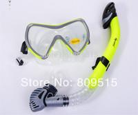 Wave MS1370S53 snorkel set diving mask snorkel for scuba diving snorkeling swimming