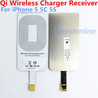 High Quality Qi Wireless Charger Receiver for Apple iPhone 5 iphone 5C Iphone 5S Charging Coil Accept Free Ship 1Pcs/Lot UQII5