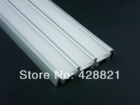 10m/Lot Free shipping 6009 aluminum  profile  for width up to 13mm  led strips 3 in 1 led profile kitchen cabinets lighting