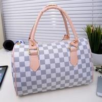 2014 Fashion women's handbag cheap designer leopard pillow plaid bag lady vintage messenger bag women leather small bag