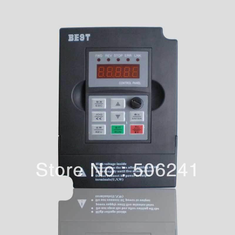 VDF 2.2 kw inverter/frequency converter, 220 v 0-1000HZ 11A ,Engraving machine/cnc router inverter for spindle motor(China (Mainland))