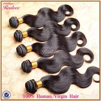 "Human hair brazilian body wave 6pc 8""-30"" 600g brazilian virgin hair 5a unprocessed virgin brazilian hair human hair extension"