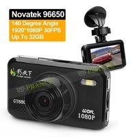 Big Promotion 100% Original Shadow GT680W Car DVR Camera Full HD Video Recorder Novatek 96650+Optional GPS Logger WDR+H.264 OT05