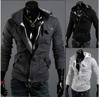2014 Hot warm Collar new brand warm hoodie cotton warm collar cap Men Long Sleeve hoodie Hot