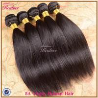 "Brazilian Virgin hair extension straight 5/6pc 8""-30""Human hair Realove Brazilian straight hair wholesale brazilian hair bundles"