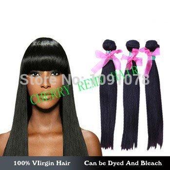 Aliexpress UK queen hair products 3pcs lot 5a Malaysian straight hair weave, natural black 100% virgin human braiding hair weft(China (Mainland))