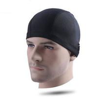 Free shipping Brand new fashion men high quality fabric swimming cap