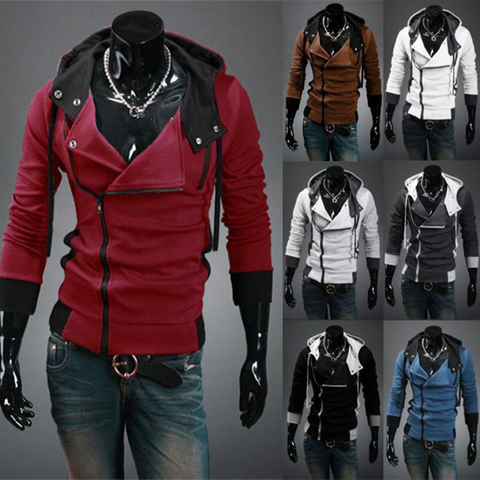 hot sale 2014 new styles Men's Autumn and winter cardigan Korean men's Hoodie Jacket(China (Mainland))
