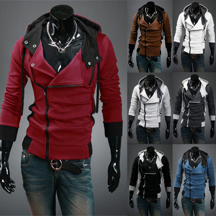 hot sale 2014 new styles Men's Autumn and winter cardigan Korean men's Hoodie Jacket(China (Mainland))