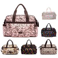 Multifunctional fashion Shoulder Diaper Bag Durable Nappy Bag bolsa maternidade Mum maternity bag stroller changing  Messenger