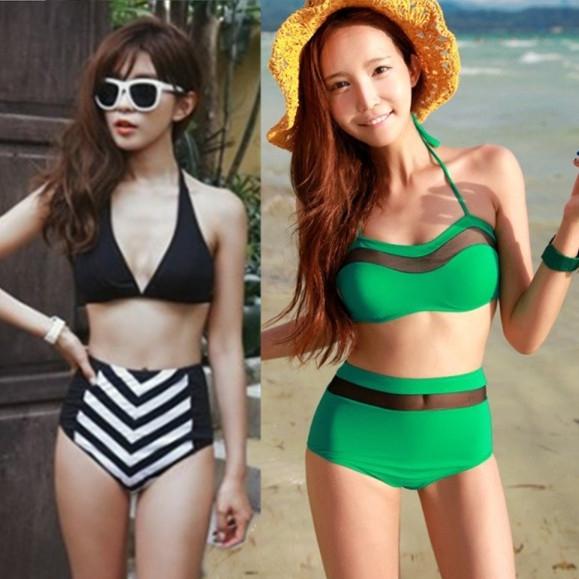 swimwear ladies femininas biquines de praia for Special wholesale brand roupas bikinis set padded clothes beautiful women's(China (Mainland))