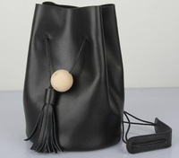 2014 Spring new fresh national trend casual cowhide genuine leather bucket bag portable one shoulder